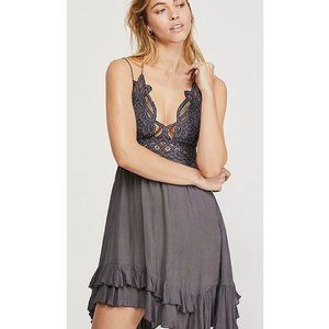 Free People Adella Lace Mini Dress NWT